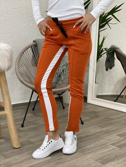 Tepláky Defined oranžové