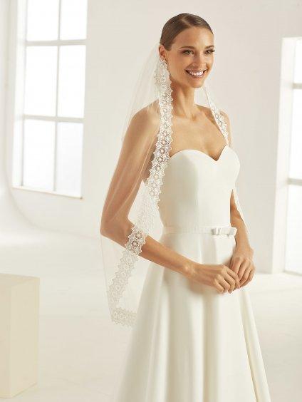 bianco evento bridal veil s336 1
