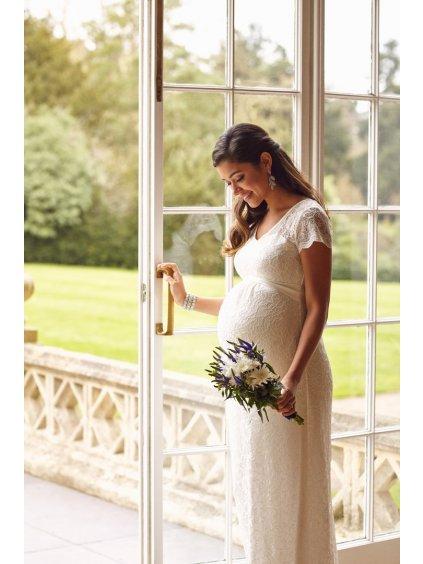 VANGI L8 Vanessa Gown Long Ivory (1)