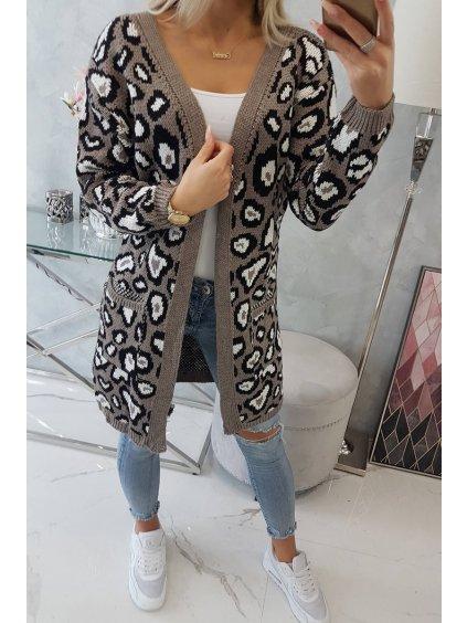 slo pl Leopardi sveter cappuccino 15935 5
