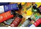 Olejové a akvarelové barvy