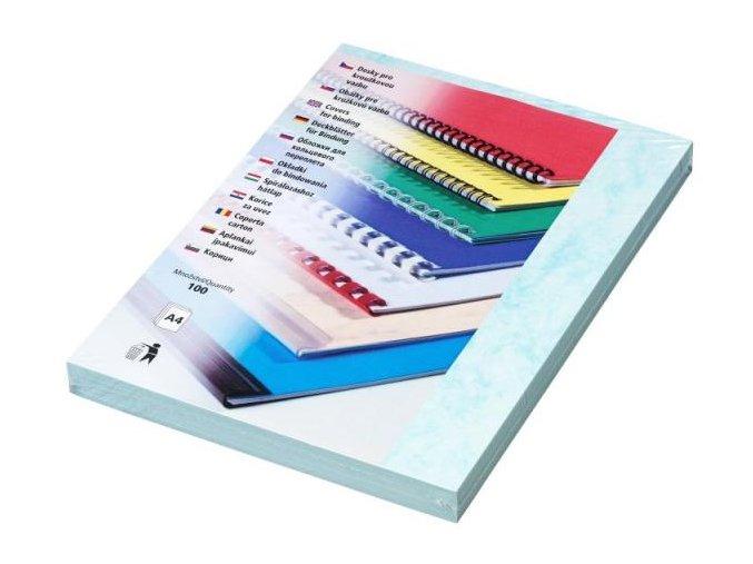 Desky pro kroužkovou vazbu Copylux A4 modré