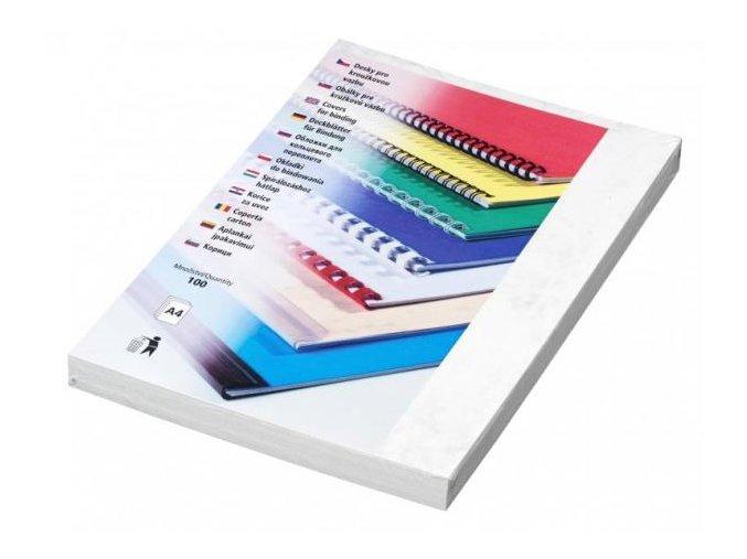 Desky pro kroužkovou vazbu Copylux A4 šedé