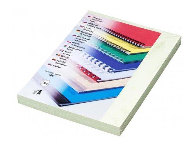 Desky pro kroužkovou vazbu Copylux A4 zelené