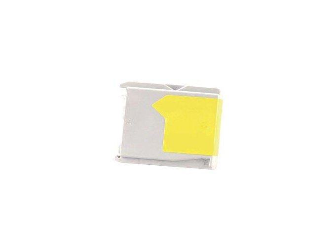 Brother LC-1000Y, yellow 17ml - kompatibilní cartridge