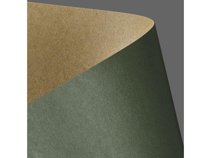 kreativní papír KRAFT zelená 275g, 20ks