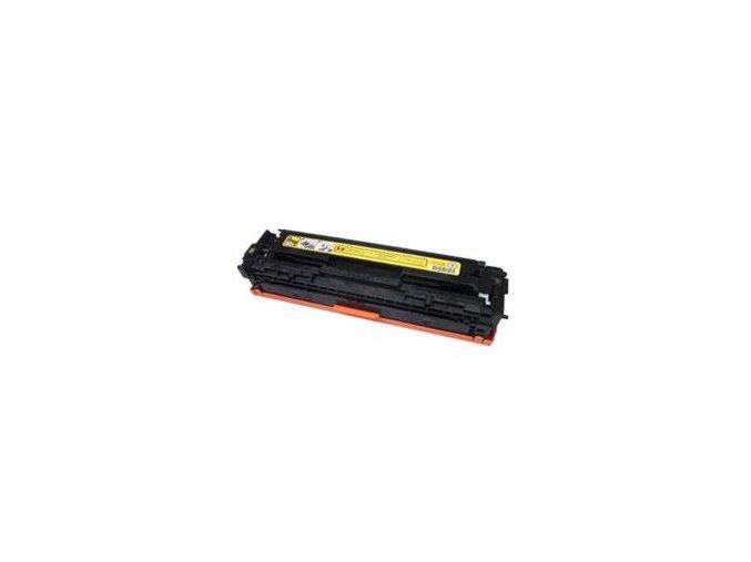 HP CE322A žlutá - kompatibilní toner