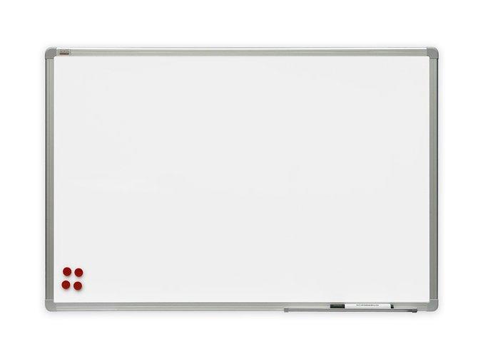 Bílá magnetická tabule Premium 100x200
