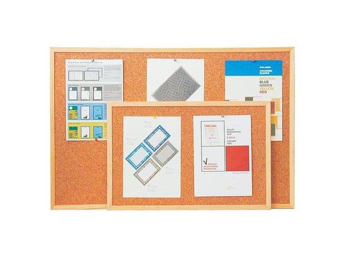 Korková tabule 90x120, Economy