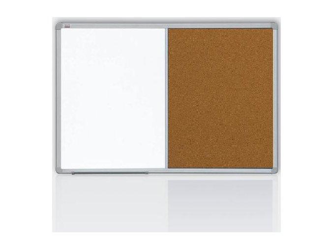 Kombinovaná tabule 60x90 korek/magnet