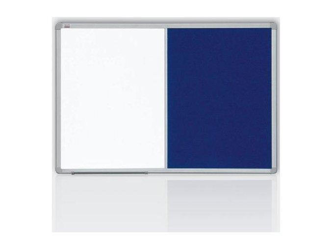 Kombinovaná tabule 90x120 filc šedý/magnet
