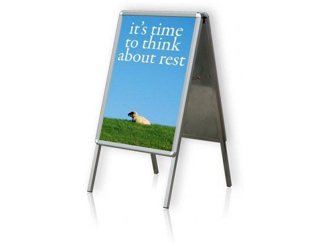 Tabule plakátová na stojanu, B2