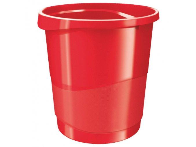 kos odpadkovy esselte vivida cerveny 7153