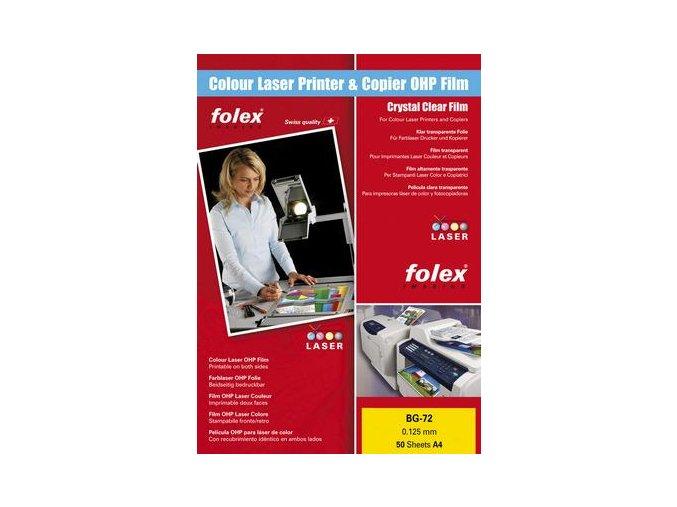 Folex BG-72 čirá fólie A4 50 ks