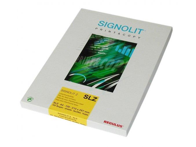 Signolit SLG A4 - čirá samolepka