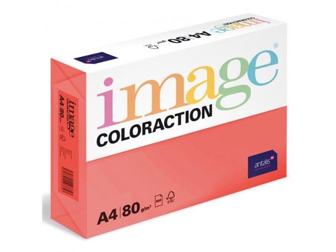 barevny papir image coloraction a4 80g intenzivni jahodove cervena 500 ks 944