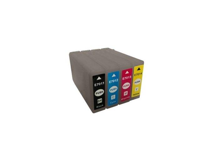 Epson T7014 žlutá - kompatibilní cartrige