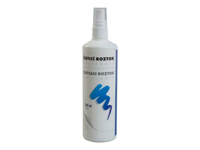 Čistící roztok D-CLEAN, na plasty, bez alkoholu