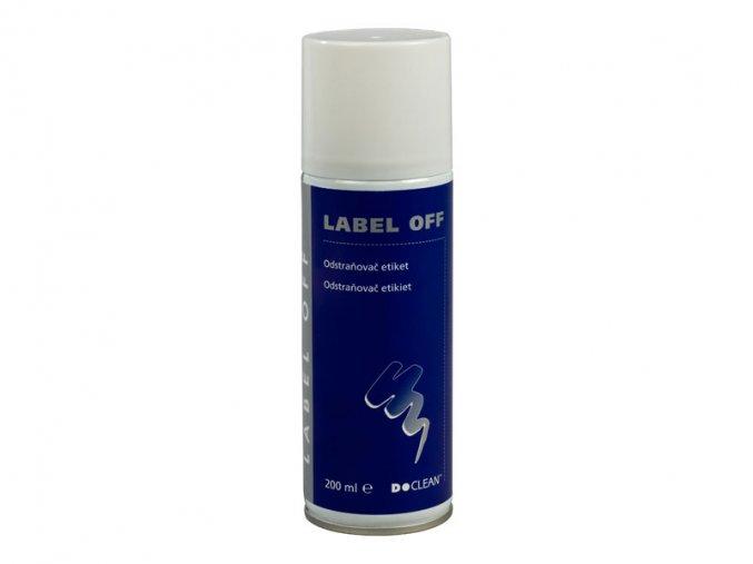 Odstraňovač etiket  D-CLEAN LABEL OFF, 200 ml
