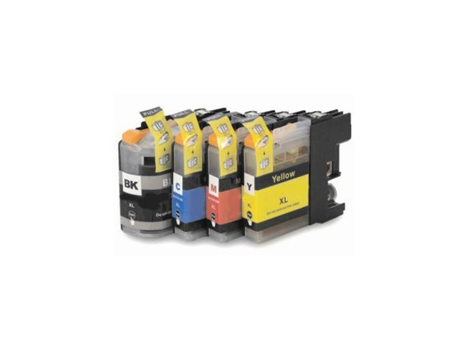 BROTHER LC-123Bk 16ml - kompatibilní cartridge