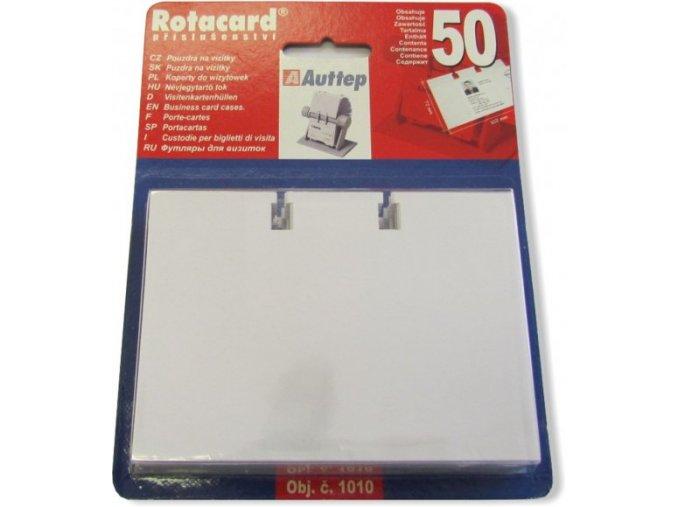 Náhradní pouzdra pro pořadač na vizitky Rotacard