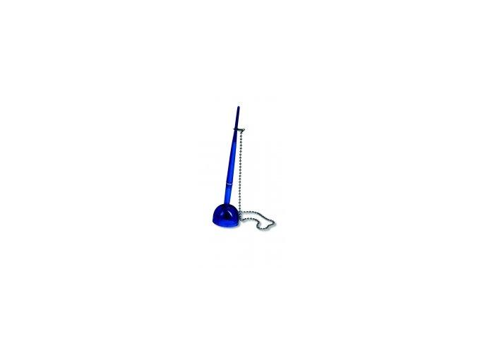 Kuličkové pero CONCORDE ve stojánku modré