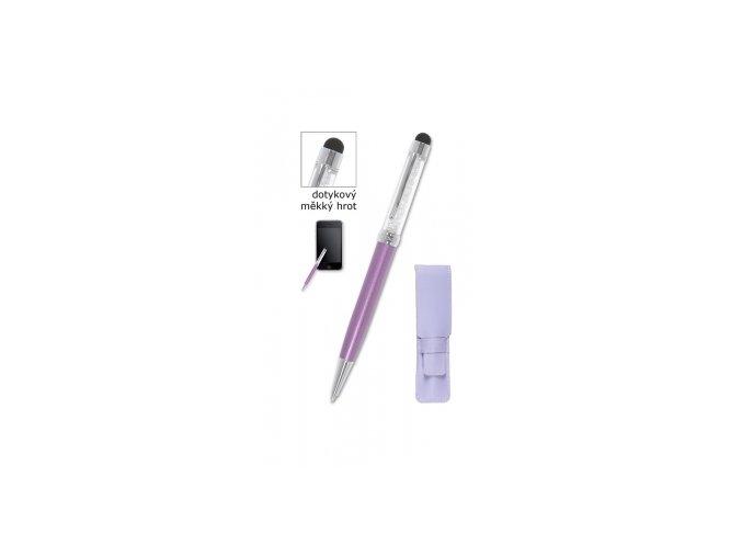 Kuličkové pero CONCORDE Aura Touch, fialová