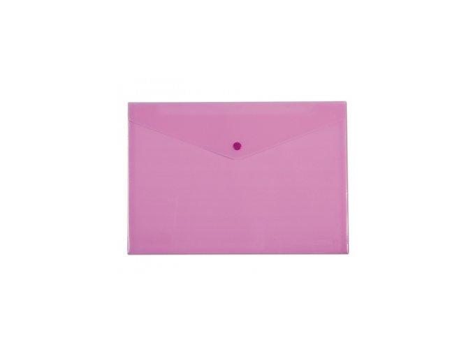 Spisové desky CONCORDE s drukem A4, pastelová růžová