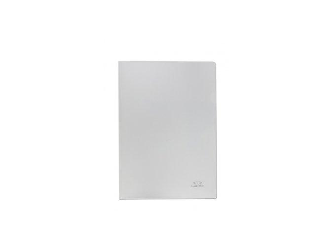 Zakládací obal A4, 180mic, tvar L, hladký, čirá, 10ks