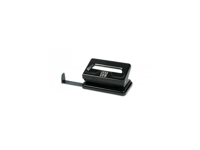 Děrovačka SAX 128, černá