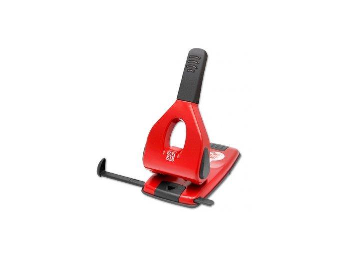 Děrovačka SAX 618, červená