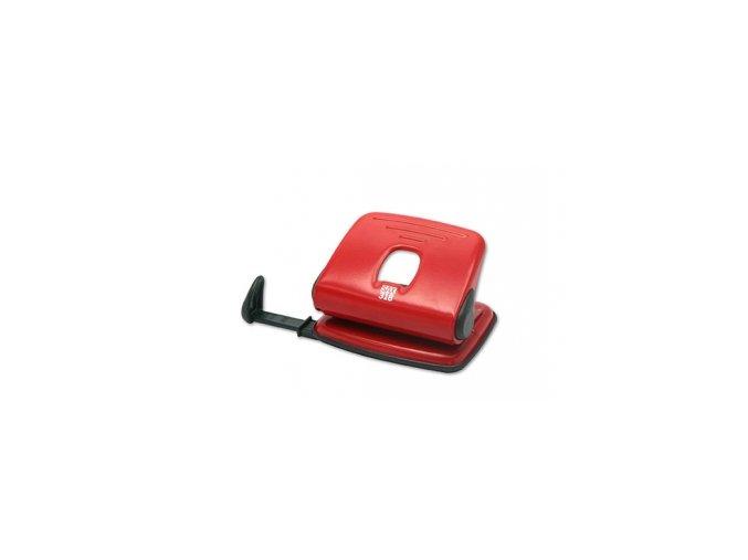 Děrovačka SAX 318, červená