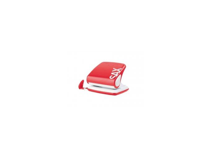 Děrovačka SAX DESIGN 418, červená