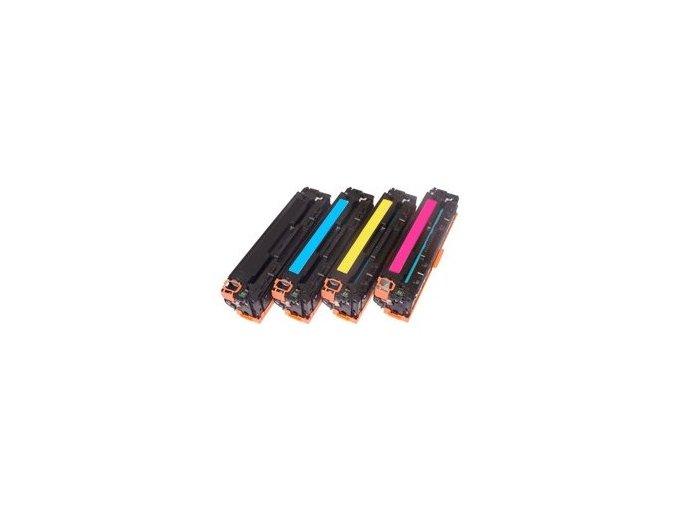 Sada tonerů CMYK HP CB540,CB541,CB542,CB543 - kompatibilní