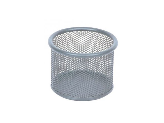 Kovový kalíšek střední CONCORDE, stříbrný