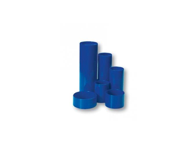 Plastový stojánek CONCORDE 6-dílný kulatý, modrý