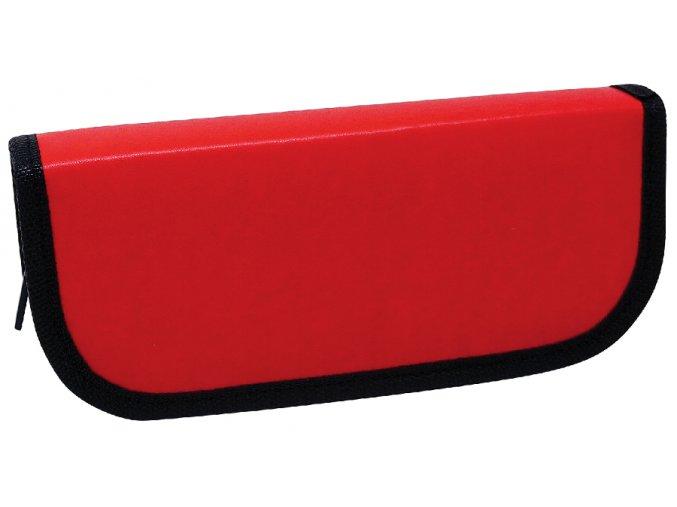Pouzdro velké CONCORDE Koženka 5056KE, červený