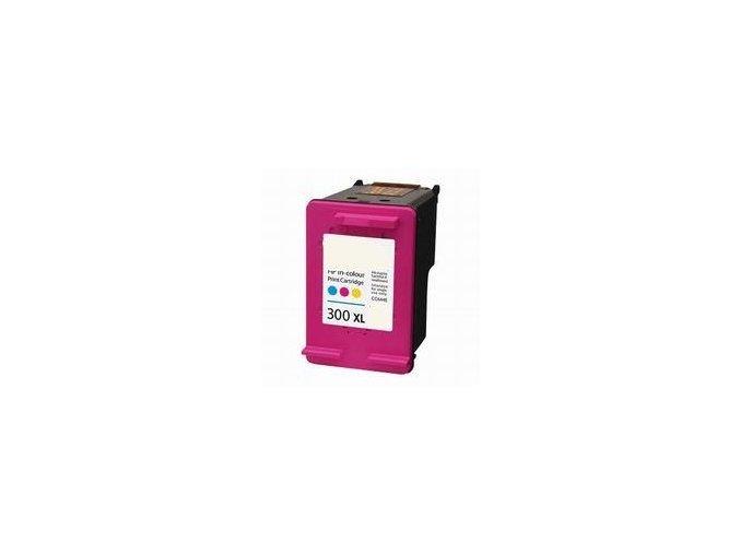 Kompatibilní cartridge HP CC644, No.300XL barevná  12ml