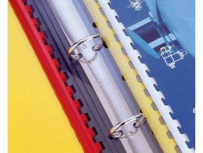 pásek s univ. perforací pro plastovou vazbu