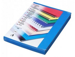 Desky pro kroužkovou vazbu Futura A4 modré