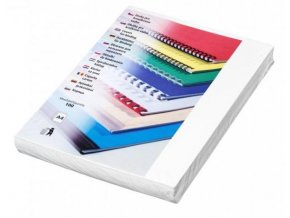 Desky pro kroužkovou vazbu Futura A4 bílé
