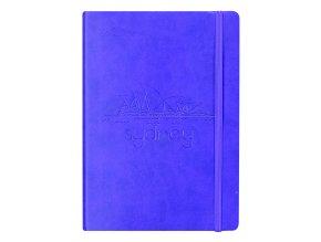 Zápisník CONCORDE Sydney, A5 linka, 80 listů