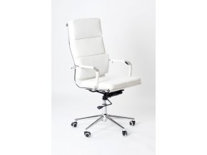 Kancelářská židle ADK Soft, bílá
