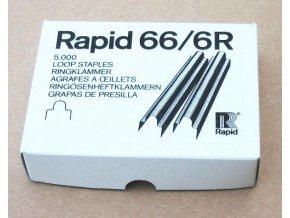 Spony do sponkovačky Rapid 66/6 R