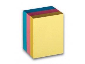 Samolepicí bloček CONCORDE, 51x38mm, 3x100 listů, pastel
