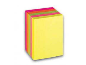 Samolepicí bloček CONCORDE - neon - 51x38mm, 5x60 listů