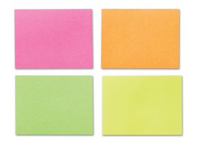 Samolepicí bloček CONCORDE - neon - 51x38mm, 4x50 listů