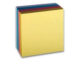Samolepicí bloček CONCORDE - pastel - 76x76mm, 4x100 listů