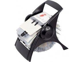 Rotační vizitkář ICO Rotacard, černý