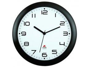Nástěnné hodiny HORNEW, černá